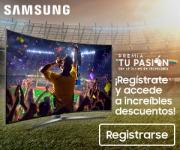 Con Samsung, vive al máximo tu pasión